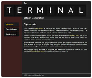 The Terminal,a text-only website